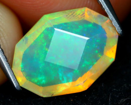 Welo Opal 2.02Ct Master Cut Natural Ethiopian Play Color Welo Opal B221