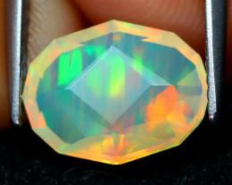 Welo Opal 1.67Ct Master Cut Natural Ethiopian Play Color Welo Opal B223