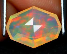 Welo Opal 1.47Ct Master Cut Natural Ethiopian Play Color Welo Opal B1919