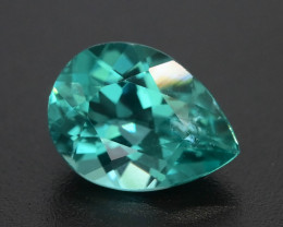 Paraiba Like Color 1.65 ct Neon Blueish Green Apatite SKU.18