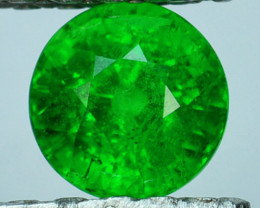 1.05Ct Natural Tsavorite Green Round Kenya