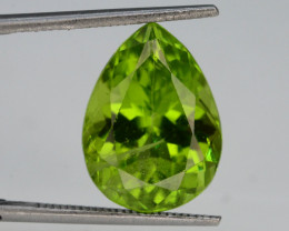 Apple Green 6.05 Ct Natural Himalayan Peridot  H.M