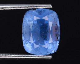 Cushion Cut 2.70 Ct Natural Ocean Blue Aquamarine~G
