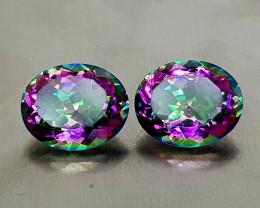 4.85Crt Mystic Quartz Natural Gemstones JI133