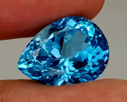 17.45Crt Blue Topaz Natural Gemstones JI133