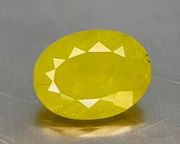 2.65Crt Green Sphene  Natural Gemstones JI133