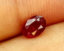 0.58Crt Ruby Mozambique Origin Natural Gemstones JI133