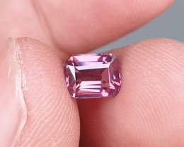 UNHEATED 1.55 CTS NATURAL GORGEOUS VVS VS PURPLE SPINEL TANZANIA