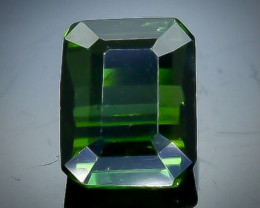 0.97 Crt Natural Tourmaline Faceted Gemstone.( AB 86)