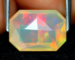 Welo Opal 2.03Ct Master Cut Natural Ethiopian Play Color Welo Opal A1401