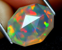 Welo Opal 2.27Ct Master Cut Natural Ethiopian Play Color Welo Opal A1406