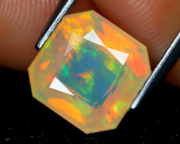 Welo Opal 1.92Ct Master Cut Natural Ethiopian Play Color Welo Opal A1407