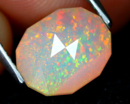 Welo Opal 2.01Ct Master Cut Natural Ethiopian Play Color Welo Opal A1414