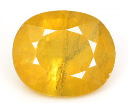 4.01 Cts Very Rare Yellow Color Natural Sapphire Loose Gemstones