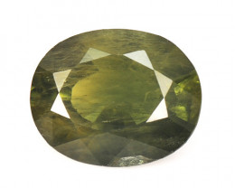 Green Sapphire 3.50 Cts Amazing Rare Natural Fancy Loose Gemstone