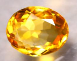 Citrine 3.95Ct Natural VVS Golden Yellow Color Citrine D1911/A2