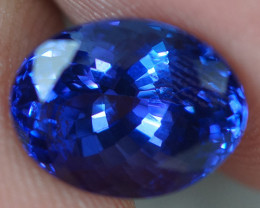 3.50 CT 10X8 MM AAAA Excellent Cut Rare Violet Blue Tanzanite - TN08