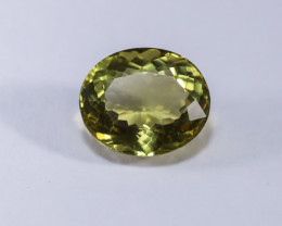 11.67ct Natural Oval-Cut Citrine