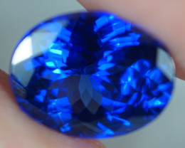 2.35 CT 10X8 MM AAAA Excellent Cut Rare Violet Blue Tanzanite - TN14