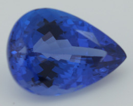 3.00 CT AAAA Excellent Cut Rare Violet Blue Tanzanite - TN20