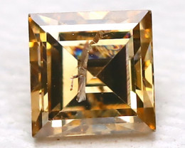Orange Diamond 0.17Ct Natural Untreated Genuine Fancy Diamond B457