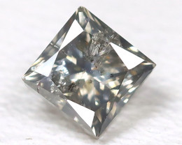 Grey Diamond 0.35Ct Natural Untreated Genuine Fancy Diamond B459