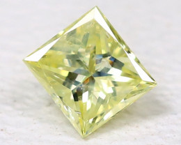 Yellow Diamond 0.14Ct Natural Untreated Genuine Fancy Diamond B460