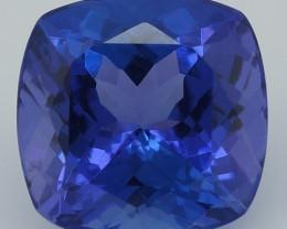 2.60CT 8X8MM AAAA Excellent Cut Rare Violet Blue Tanzanite - TN26