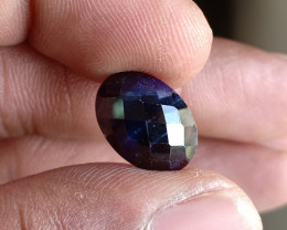 Natural Sapphire Gemstone With a Fancy Cut VA3763