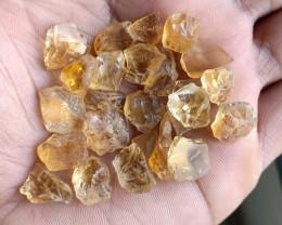 100 Ct Natural Citrine Gemstone Rough Parcel VA3772
