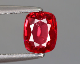 0.865 CT 100% NATURAL UNHEATED BURMESE PIGEON BLOOD RED SPINEL