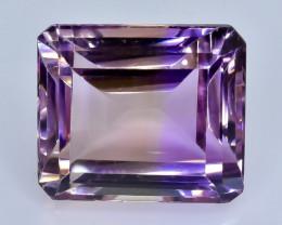 15.75 Crt  Ametrine  Faceted Gemstone (Rk-61)