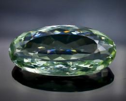 31.30 Crt  Green Prasiolite Amethyst  Faceted Gemstone (Rk-61)