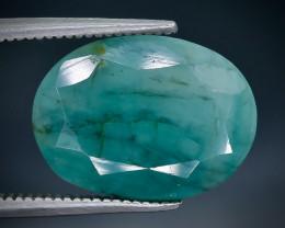 7.24 Crt Emerald Faceted Gemstone (Rk-61)