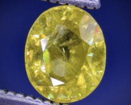 0.98 Crt  Sphene Faceted Gemstone (Rk-61)