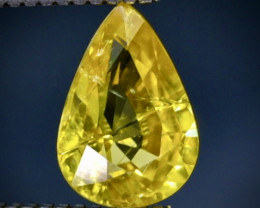 1.33 Crt  Zircon Faceted Gemstone (Rk-61)