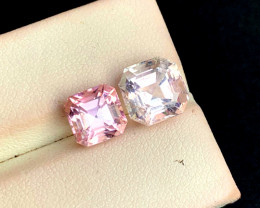 6.70 Carats Natural Baby Pink Color Tourmaline Gemstones