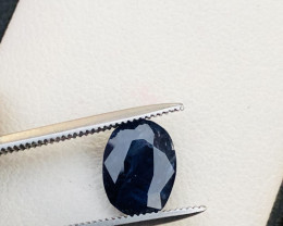 Attractive 1.85 ct lovely Blue Sapphire Ring Size
