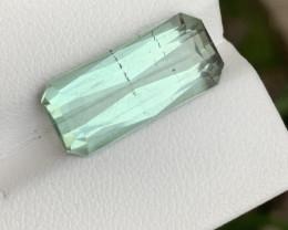 8.15 carats greenish colour Tourmaline Gemstone