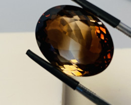 17.47 CT - IMPERIAL TOPAZ FROM BRASIL UNTREATED!!