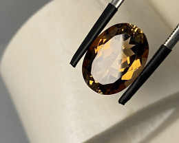 7.45 CT - IMPERIAL TOPAZ FROM BRASIL UNTREATED!!