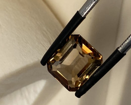4.23 CT - IMPERIAL TOPAZ FROM BRASIL UNTREATED!!