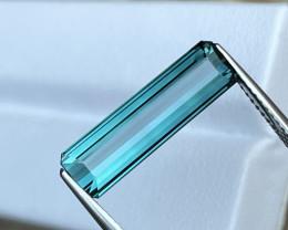 4.36 Cts AAA Grade Natural Indicolite Blue Tourmaline VVS