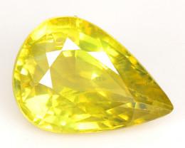 *No Reserve* Chrysoberyl 1.31 Cts Yellowish Green  Natural Loose Gemstone