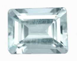 Aquamarine 2.26 Cts Unheated Blue Natural Loose Gemstone
