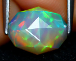 Welo Opal 1.58Ct Master Cut Natural Ethiopian Play Color Welo Opal C1601