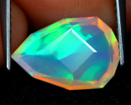 Welo Opal 2.24Ct Master Cut Natural Ethiopian Play Color Welo Opal C1610