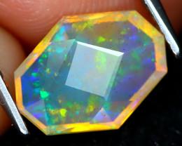 Welo Opal 1.78Ct Master Cut Natural Ethiopian Play Color Welo Opal C1612