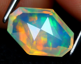Welo Opal 1.76Ct Master Cut Natural Ethiopian Play Color Welo Opal C1614