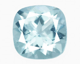 Aquamarine 1.32 Cts Blue Natural Loose Gemstone